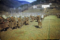 "10th's soldiers in locality ""Al Ghiro"" a Monsagrati - Lucca near Villa Colli"